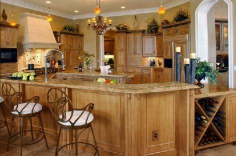Phòng bếp mang phong cách cổ điển