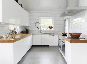 Tủ bếp gỗ Laminate – Công nghệ đến từ Châu Âu