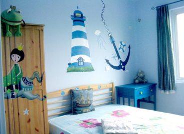 Trang trí theo chủ đề cho phòng trẻ em