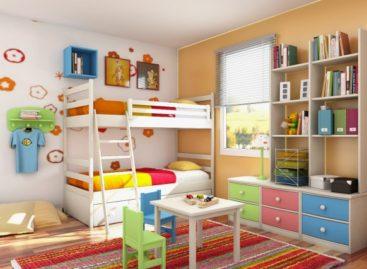 Trang trí nội thất phòng trẻ em