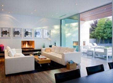 30 mẫu phòng khách đẹp xu hướng 2012