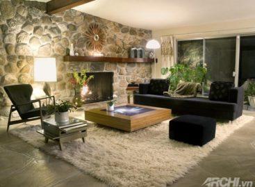 Những mẫu phòng khách đẹp cho mùa đông
