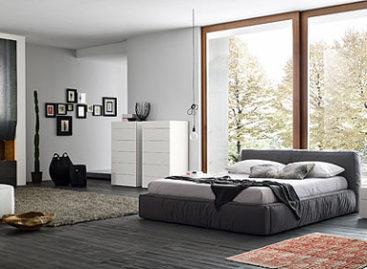 Mẫu phòng ngủ ấn tượng của Rossetto Armobil