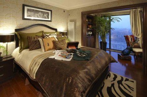 Thiết kế phòng ngủ của biệt thự theo phong cách cổ điển Châu Âu