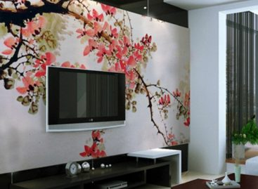 Bộ tranh tường trang nhã mang dấu ấn Trung Hoa