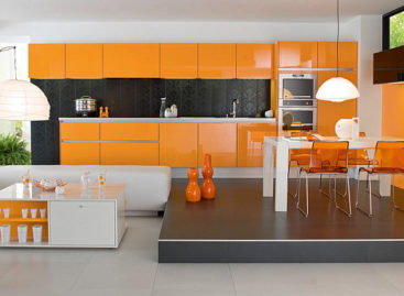 Trang trí với màu cam, chỉ còn là chuyện nhỏ!