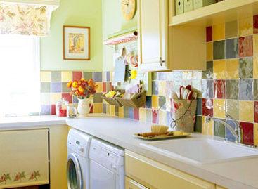 Thiết kế và trang trí phòng giặt ủi