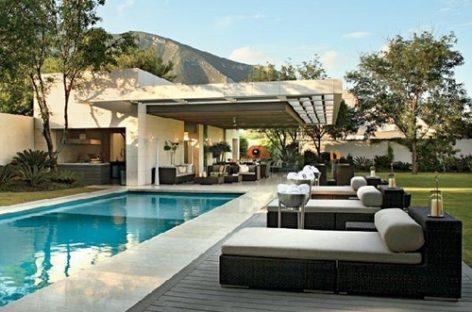 12 mẫu thiết kế bể bơi tuyệt đẹp