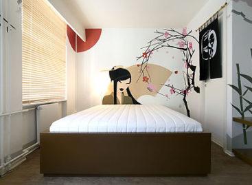 Những chiếc giường đơn giản và ấn tượng