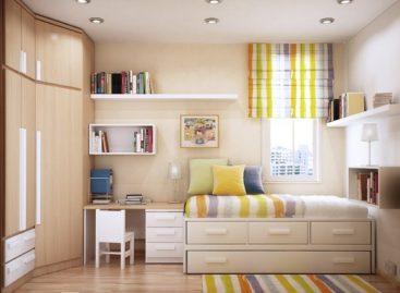 Tiết kiệm không gian cho phòng trẻ em