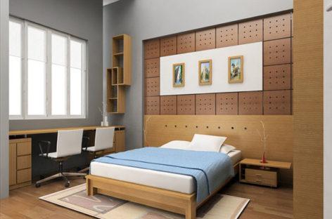 Chọn vị trí giường ngủ phù hợp với phong thủy