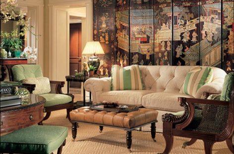 Phong cách kiến trúc cổ điển cho phòng khách