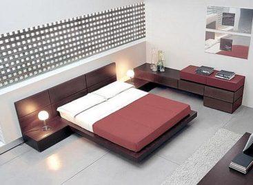 Phòng ngủ thiết kế đơn giản với gam màu trung tính