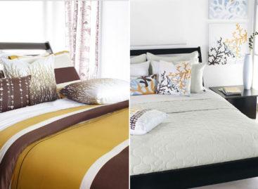 Gối và tranh đồng bộ cho phòng ngủ thêm đẹp