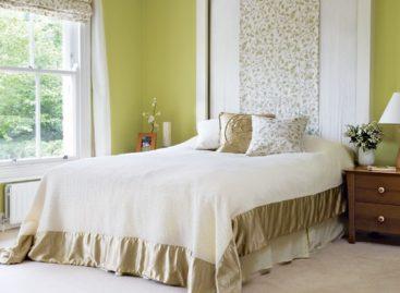 Khoác áo mới cho phòng ngủ bằng màu sắc