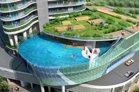 Thư giãn với những hồ bơi độc đáo