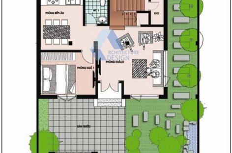 Tư vấn kiến trúc nhà 6 x 8 m