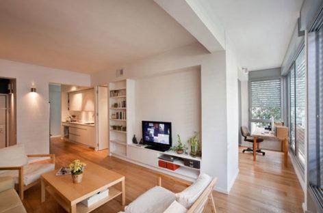 Làm mới căn hộ 59m2 tại Tel-Aviv, Israel