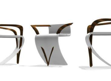 """Độc đáo ghế """"La Roche Chair"""""""