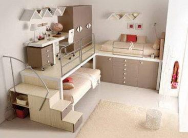 Phân chia không gian phòng trẻ