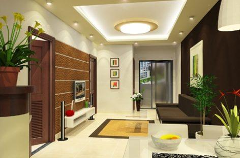 Mẫu thiết kế đẹp phòng khách nhà phố và căn hộ chung cư