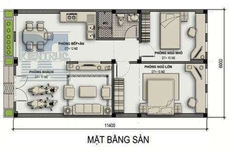 Nhà cấp 4 diện tích 70 m2