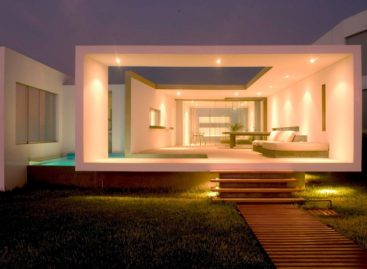 Độc đáo ngôi nhà với kiến trúc mở ở Las Arenas