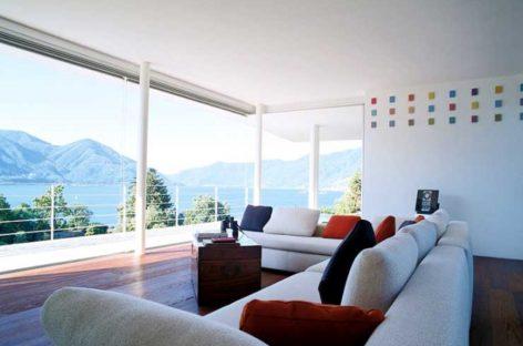 Nét phá cách trong thiết kế căn biệt thự bên hồ Maggiore