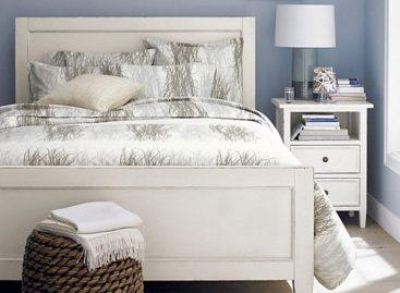 Màu sắc tuyệt đẹp cho giường ngủ và phòng tắm mùa hè