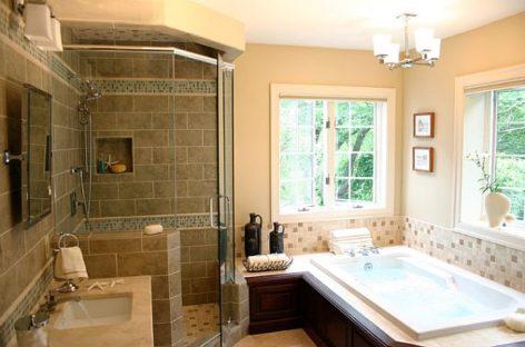 Làm mới phòng tắm với chi phí thấp
