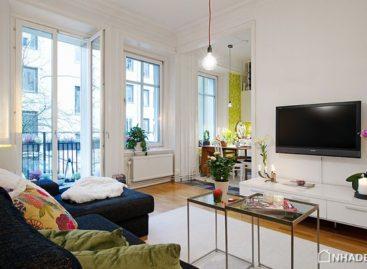 Thiết kế thông minh cho căn hộ nhỏ tại Gothenburg
