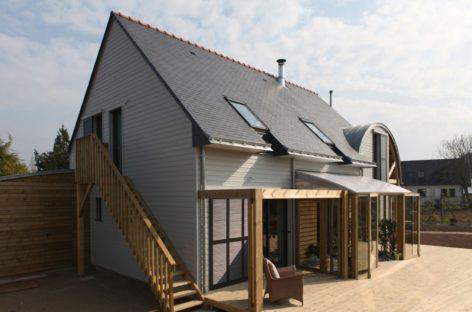Ngôi nhà với kiến trúc xanh ở Brittany nước Pháp
