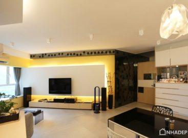 Thiết kế tối giản cho căn hộ đương đại ở Hong Kong