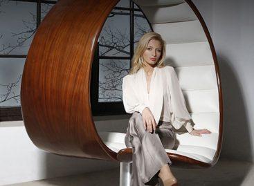 Sang trọng và quý phái với chiếc ghế Hug của Gabriella Asztalos
