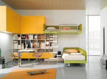 Các mẫu thiết kế phòng ngủ dành cho teen của công ty Nardi Interni