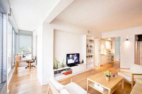 4 giải pháp nới rộng không gian phòng khách