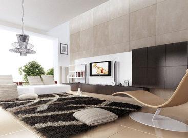 Trang trí nhà với thảm