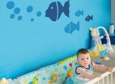 Giấy dán tường cực cool cho phòng trẻ