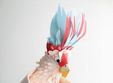 100 tác phẩm chim bằng giấy xếp tuyệt đẹp (Phần 2)