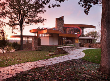 Chenequa Residence – ngôi nhà với những đường cong tuyệt mỹ