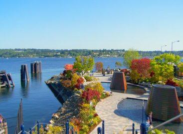 Harborside Fountain Park – điểm nhấn của thành phố Bremerton, Washington