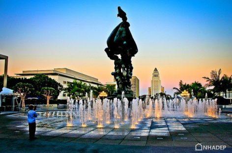 Lôi cuốn cùng những vũ điệu của nước tại trung tâm Âm nhạc Los Angeles