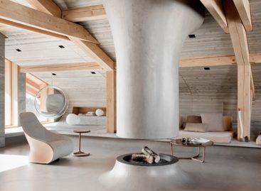 Mountain Chalet – ngôi nhà gỗ mộc mạc trên núi