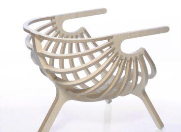 Vẻ đẹp tinh tế của chiếc ghế được lấy cảm hứng từ biển