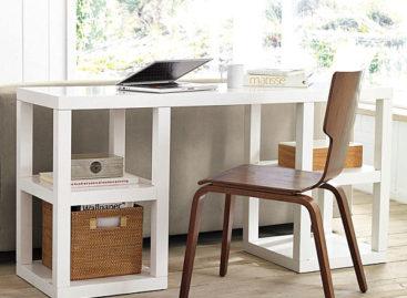 20 kiểu bàn làm việc thích hợp tại nhà