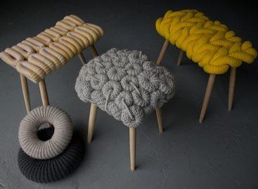 Sáng tạo, độc đáo cùng ghế dệt nhỏ xinh