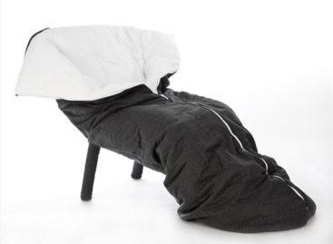 Độc đáo với chiếc ghế bọc vải Cocon