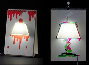 Sáng tạo với chiếc đèn Pagebypage do Tunapaper thiết kế