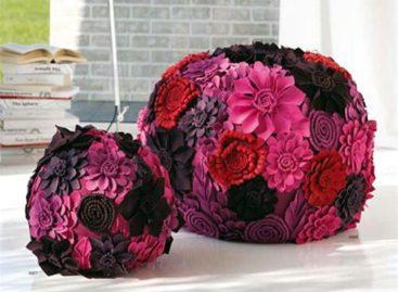 Ghế đôn hoa xinh làm đẹp cho không gian sống