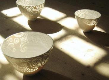 Vẻ đẹp của đồ sứ thấu quang dạng hạt gạo (Rice Grain Porcelain)